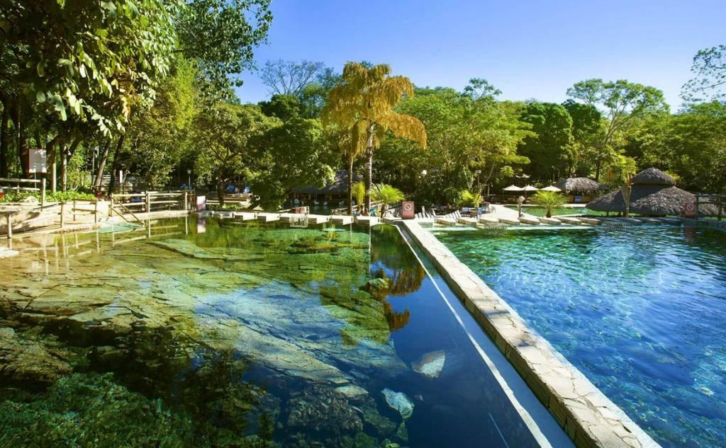 Parque das Fontes, Rio Quente Resorts, Goiás, Brasil