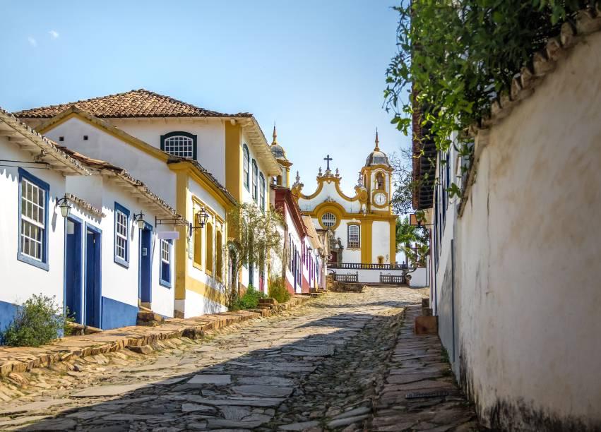 Apesar de dar nome a cidade, o líder da Inconfidência Mineira não nasceu emTiradentes, mas em Ritápolis (a 32 km)