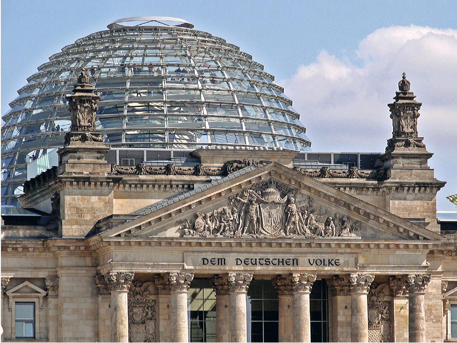 Cúpula de vidro do Reichstag, Berlim, Alemanha