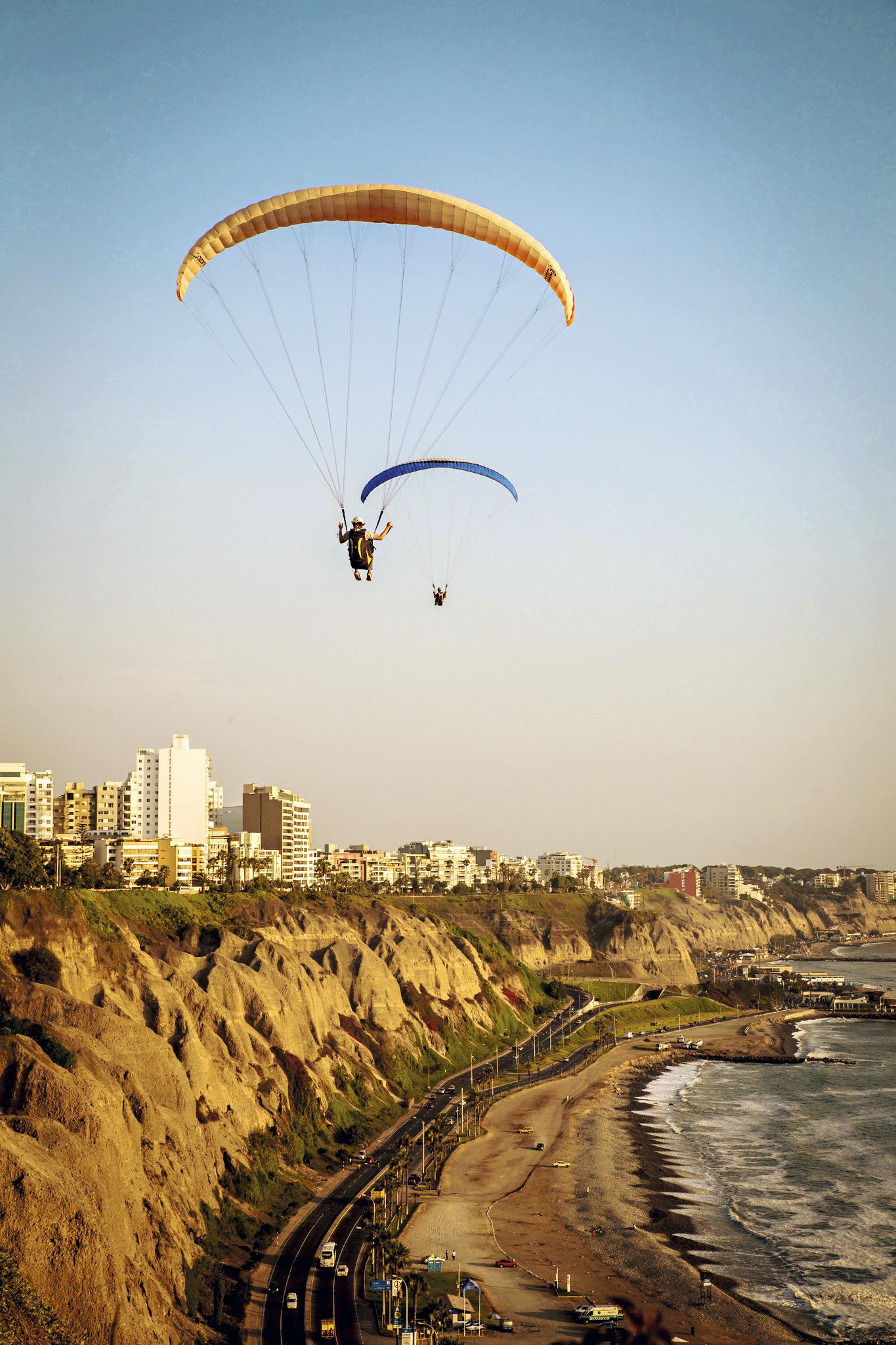 Paraglider em Miraflores
