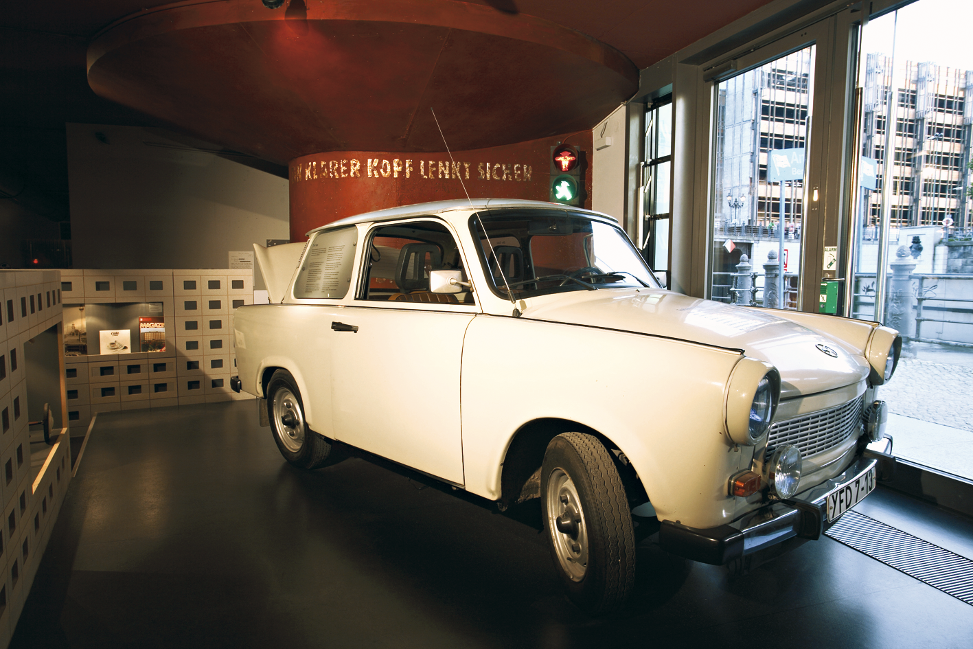 Trabant no DDR Museum, Berlim, Alemanha