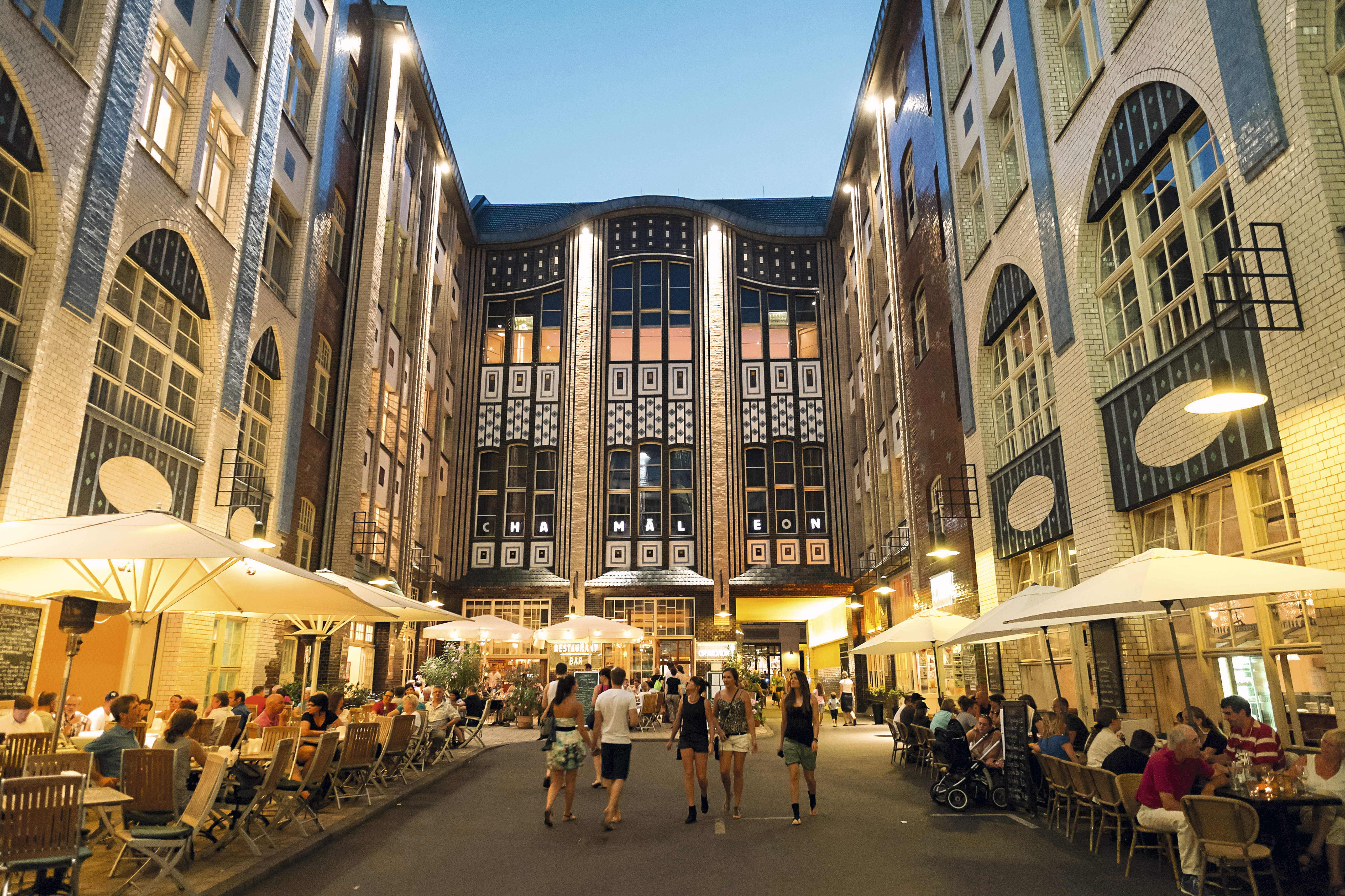 Hackesche Höfe, Berlim, Alemanha