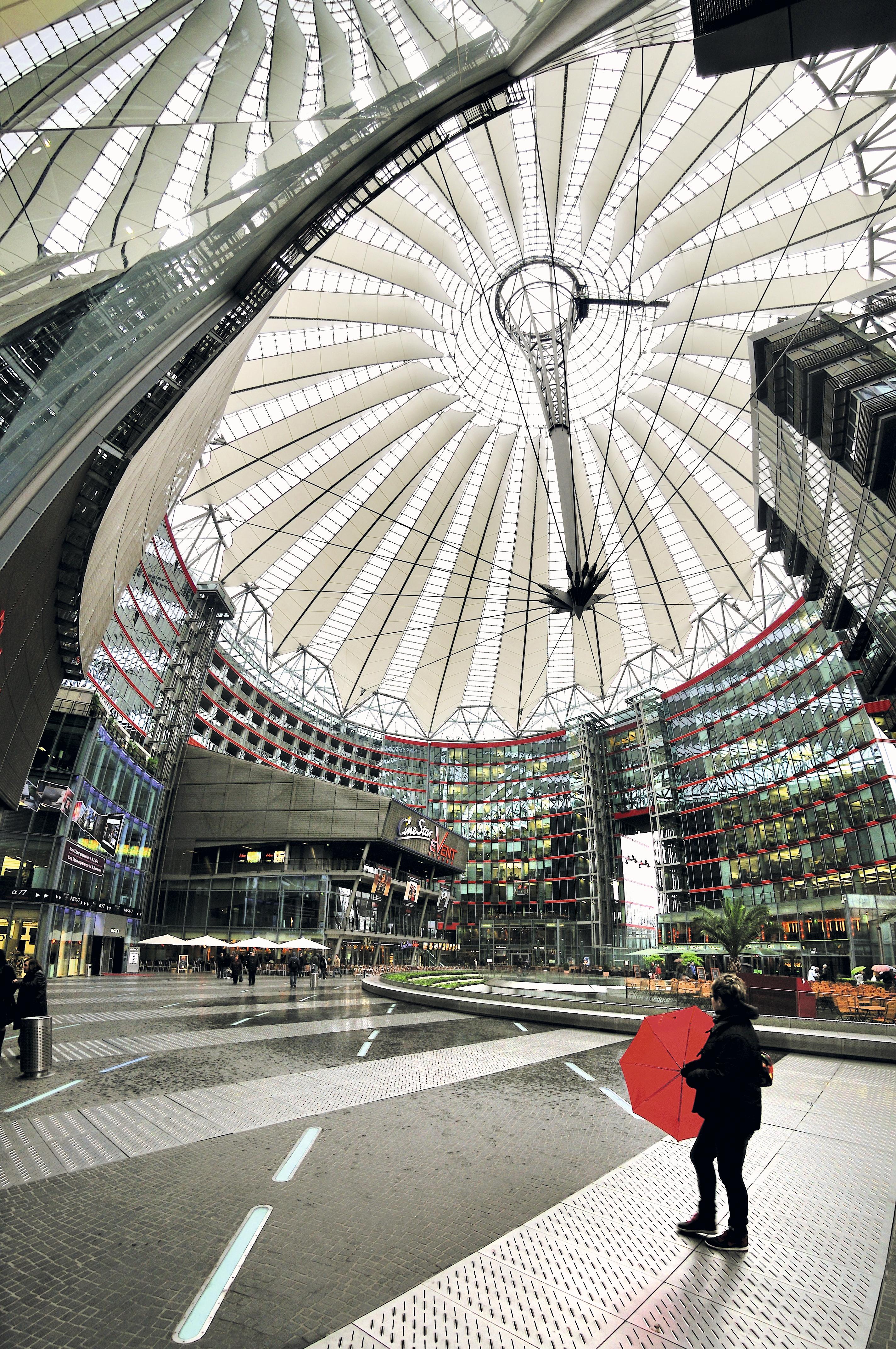 Sony Center, Potsdamer Platz, Berlim, Alemanha