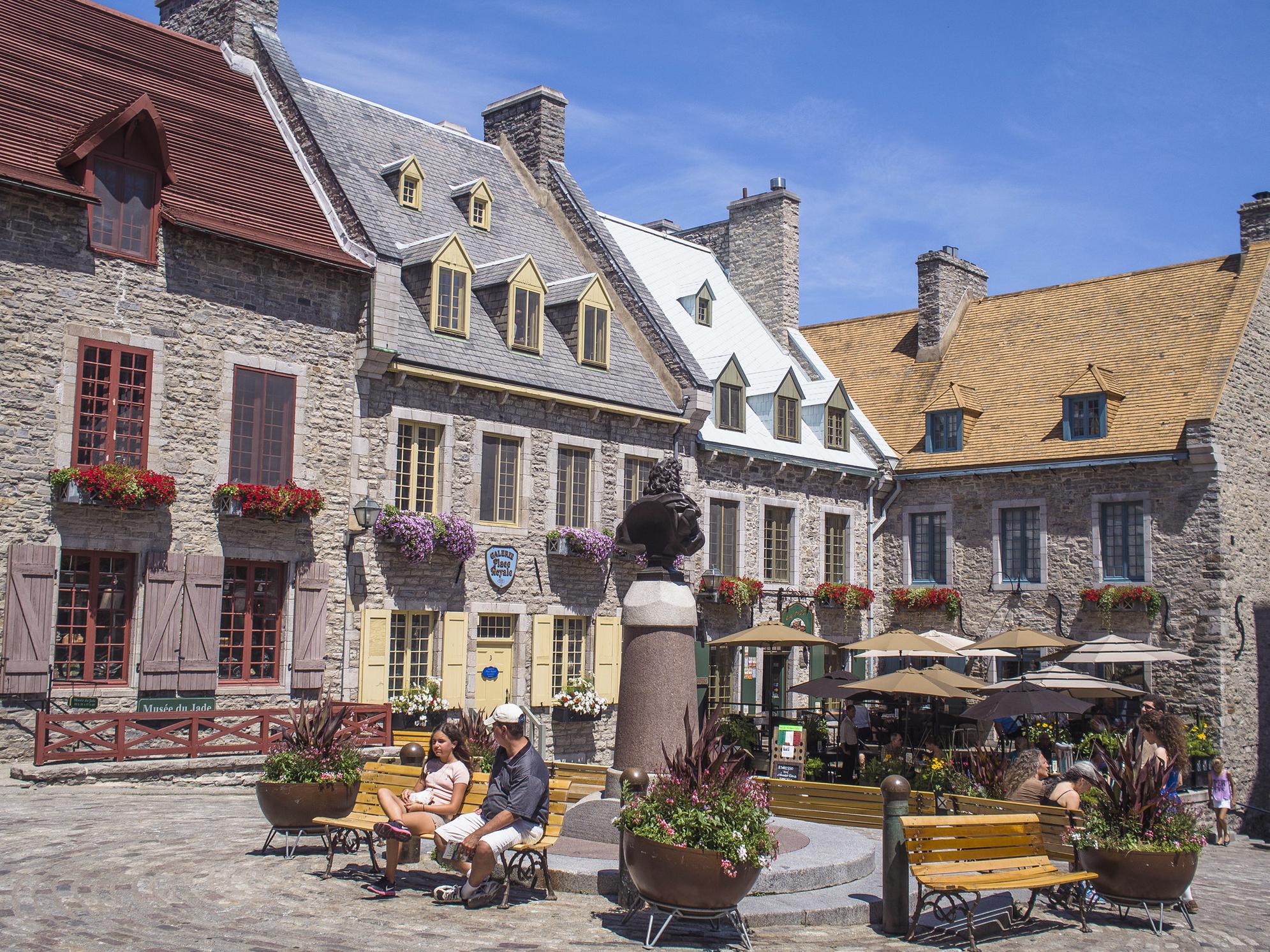 Place Royale, Quebec, Canadá