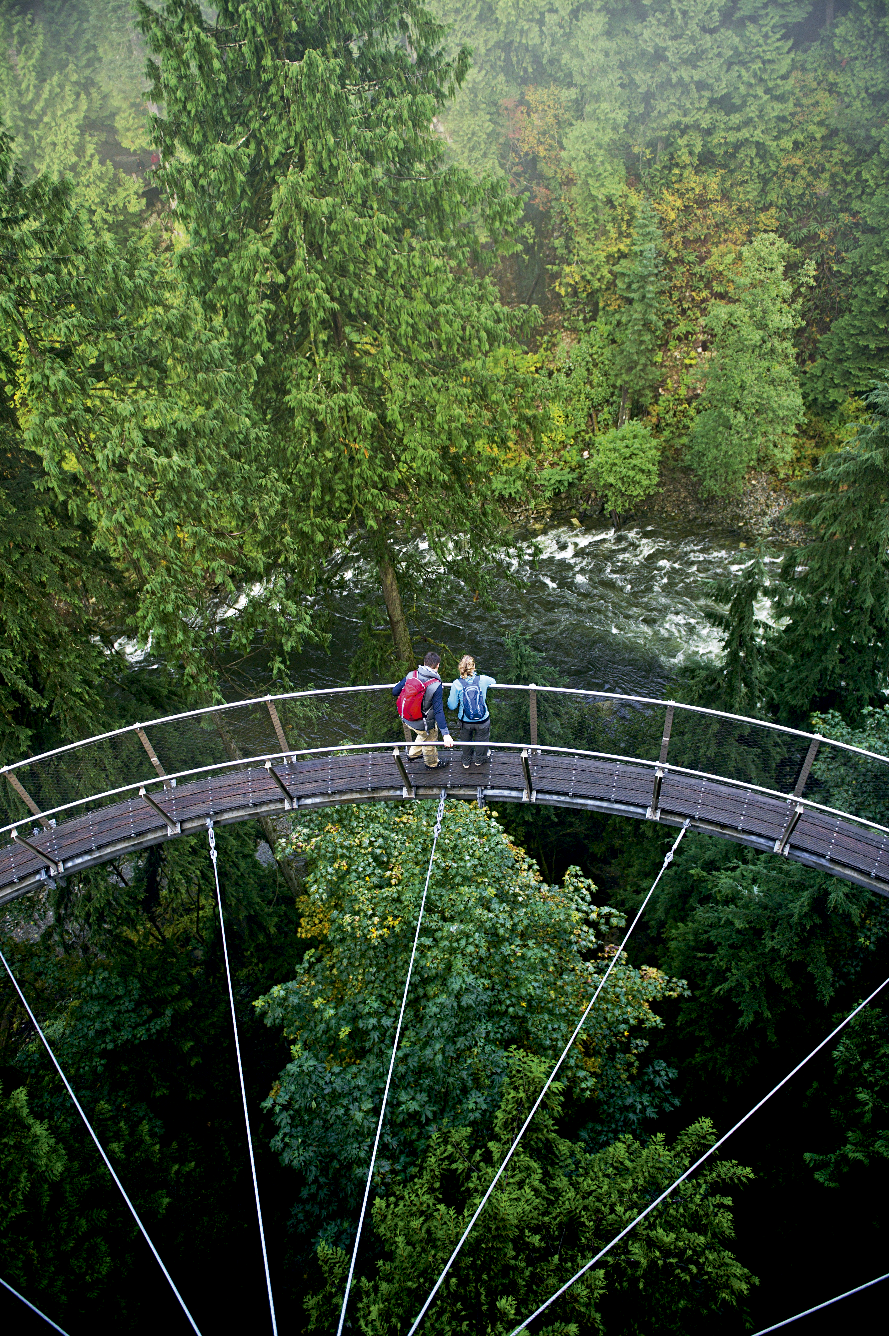 Ponte Cilffwalk, Vancouver, Canadá