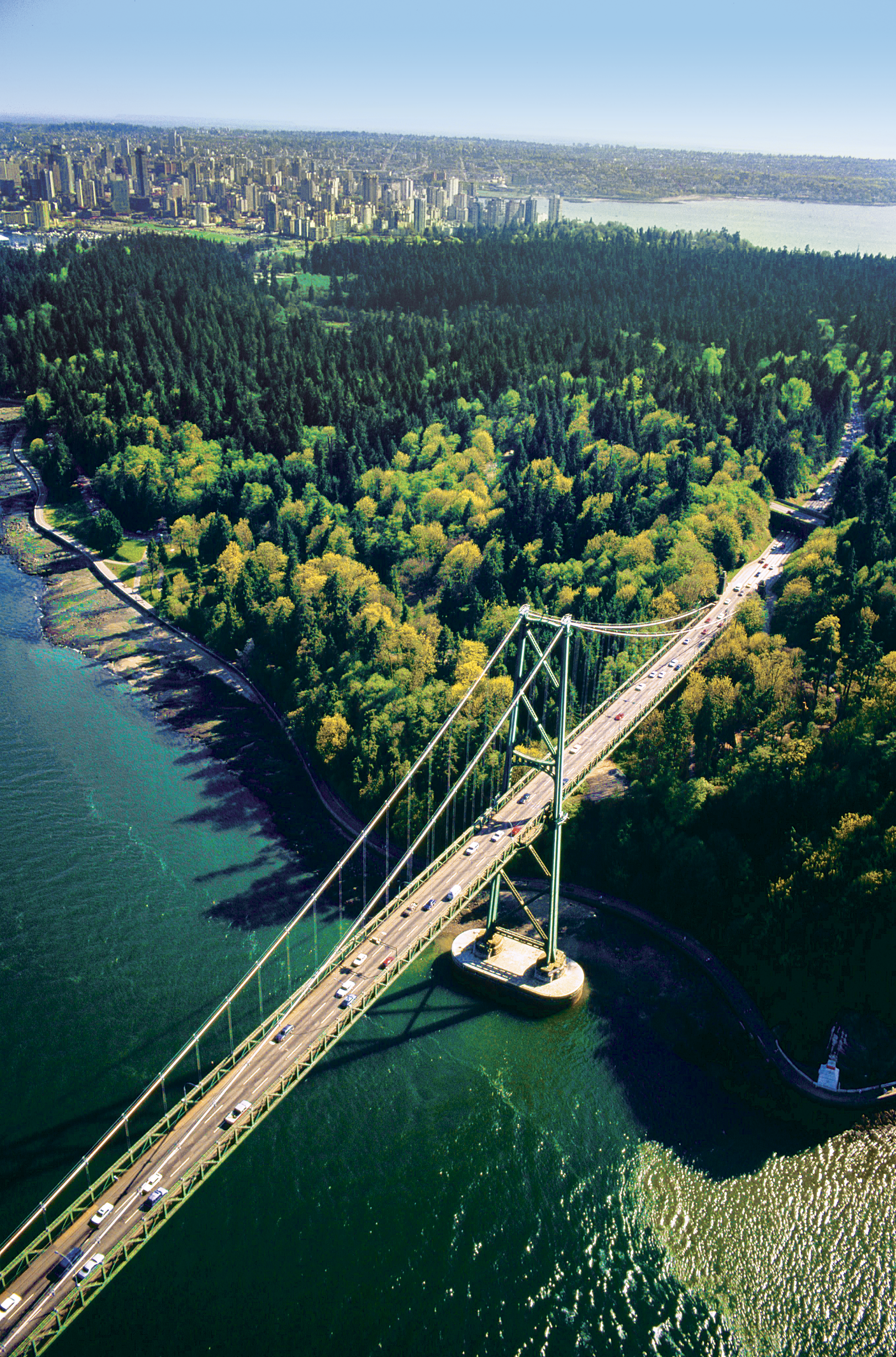 Lions Gate Bridge, Vancouver, Canadá
