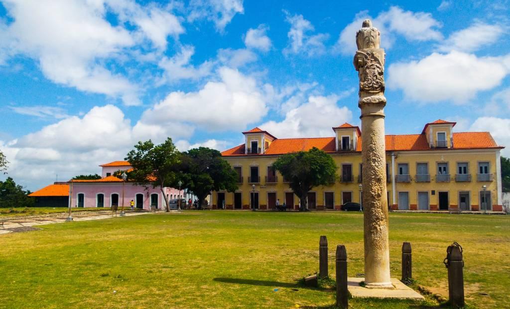 O pelourinho de Alcântara, Maranhão