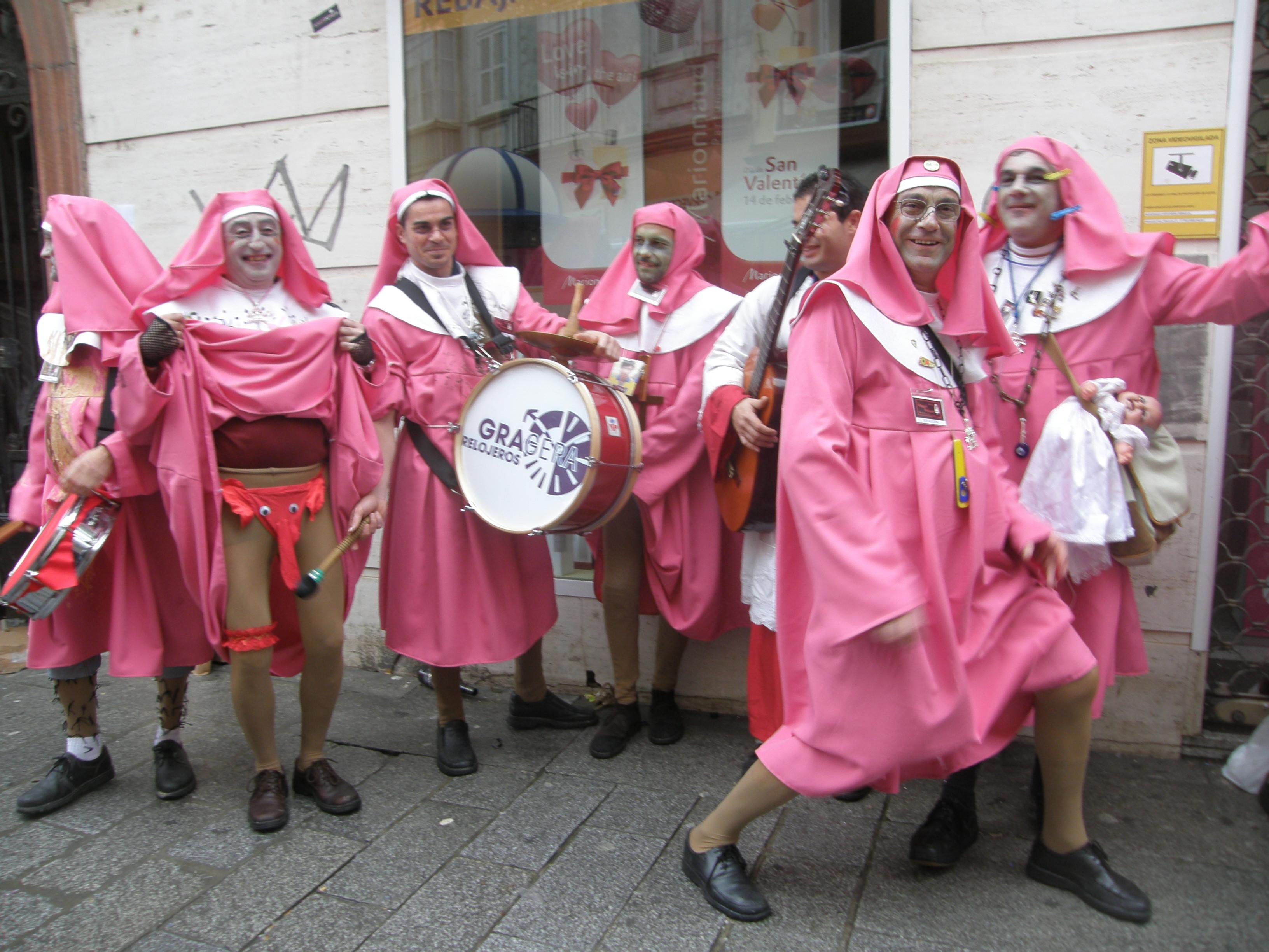 Carnaval em Cádiz, na Espanha