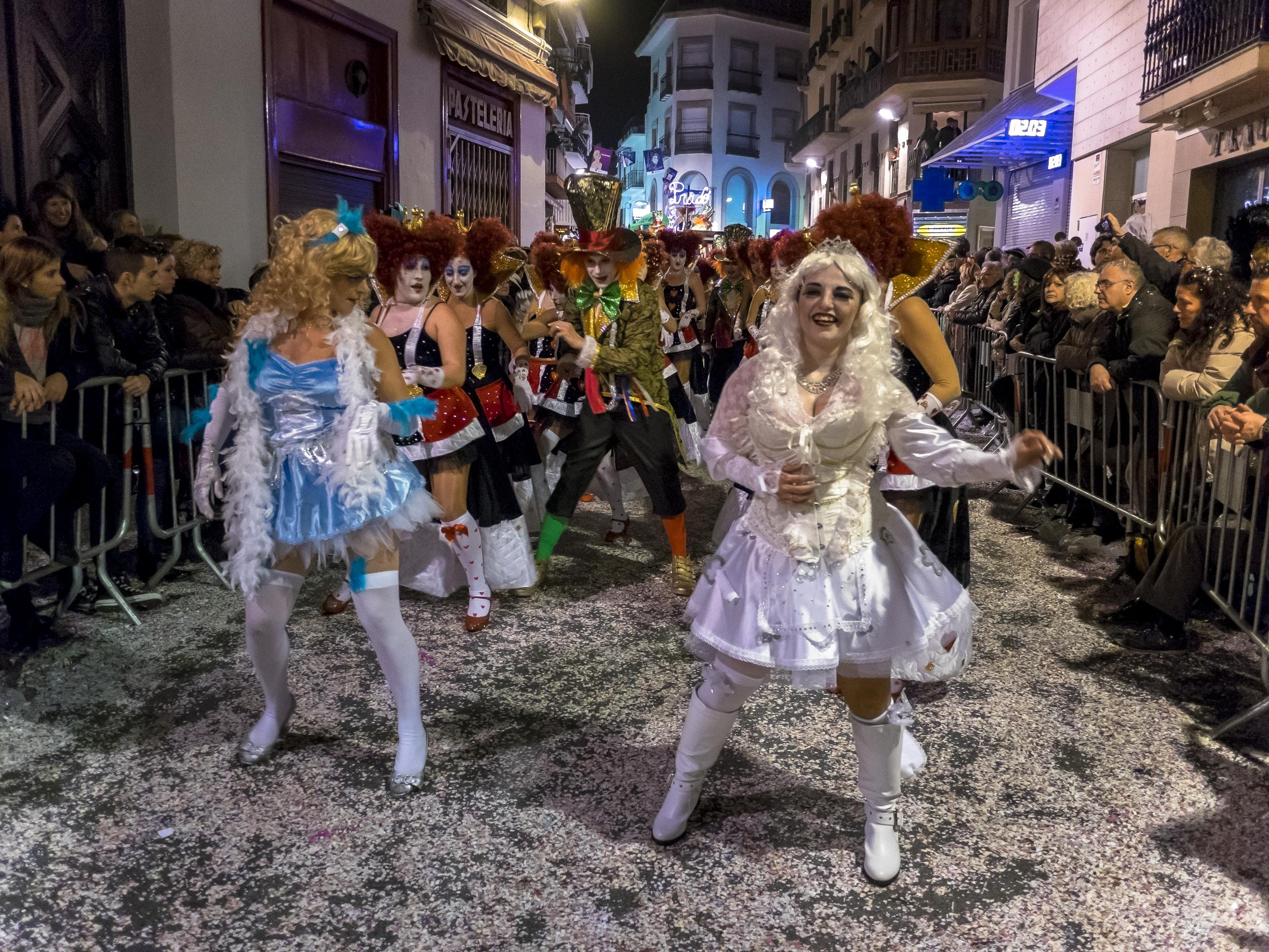 Carnaval em Sitges, cidade da Espanha