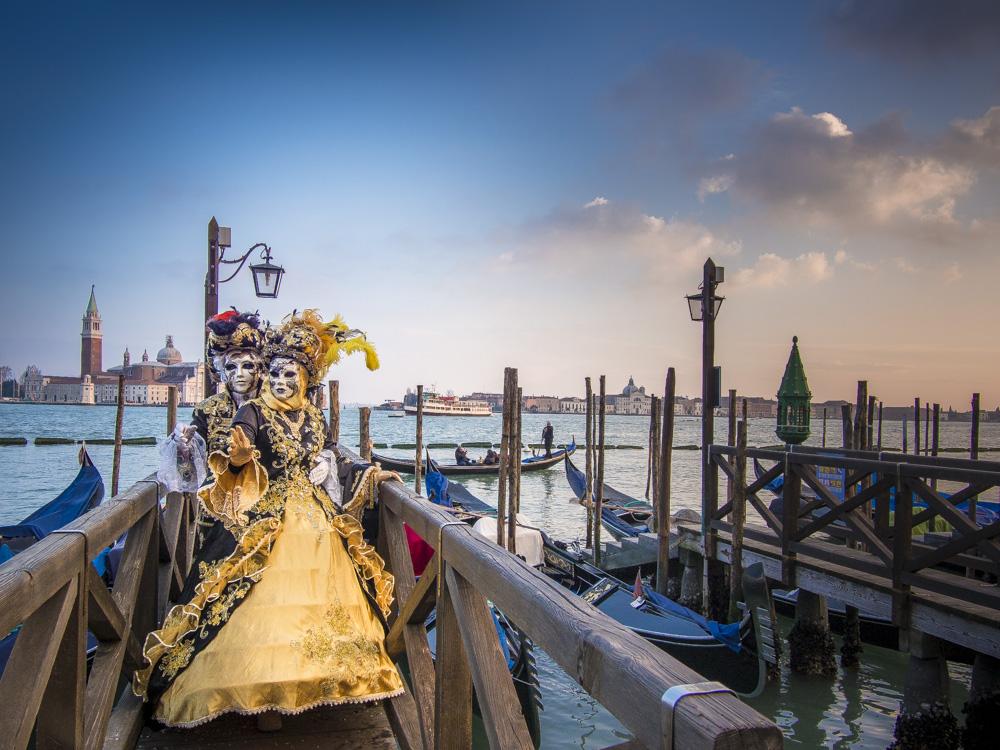 Carnaval em Veneza, Itália