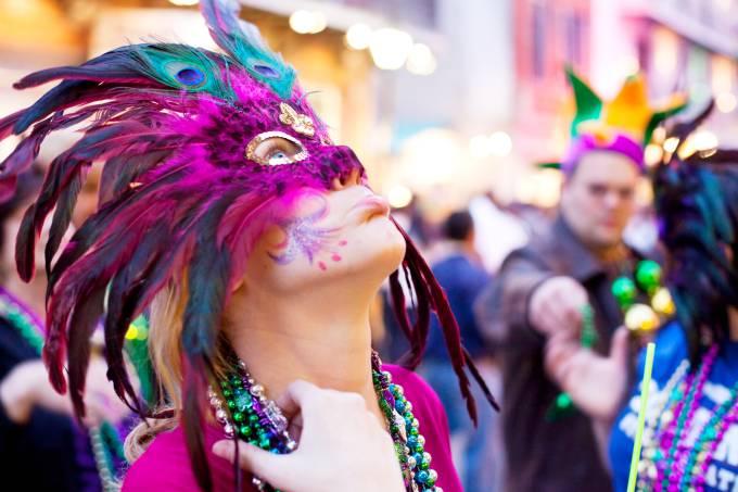 Carnaval Mardi Gras Nova Orleans Estados Unidos