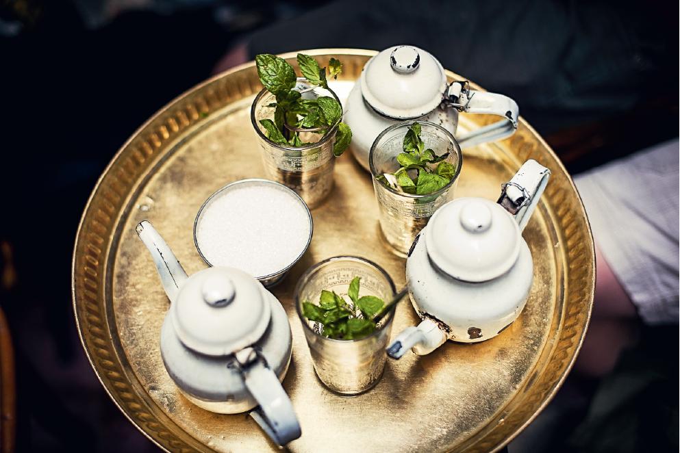Chá de menta
