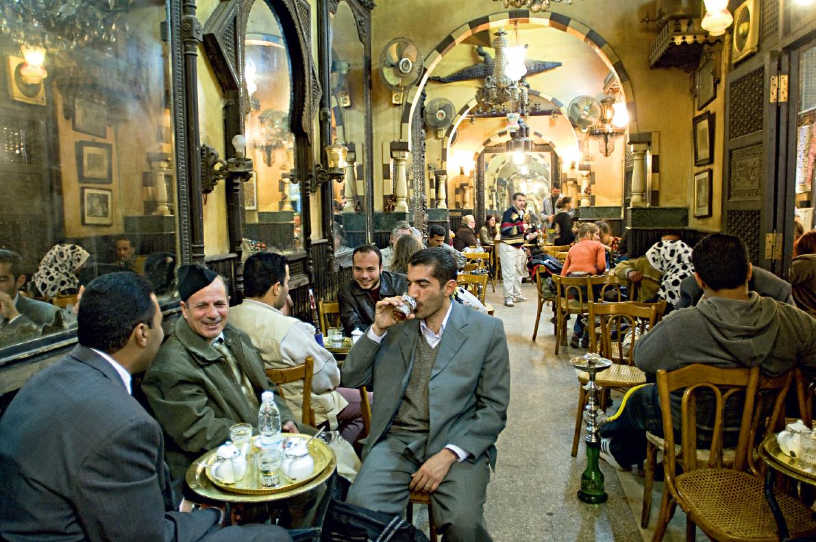 Fishway Café, Cairo, Egito