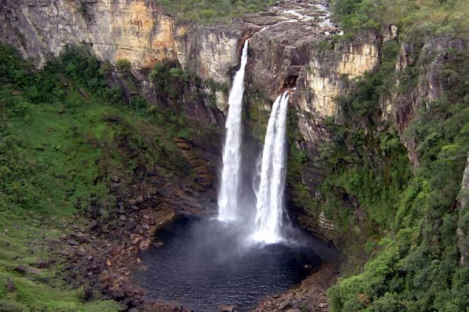 Cachoeira do Rio Preto Parque Nacional da Chapada dos Veadeiros Goiás