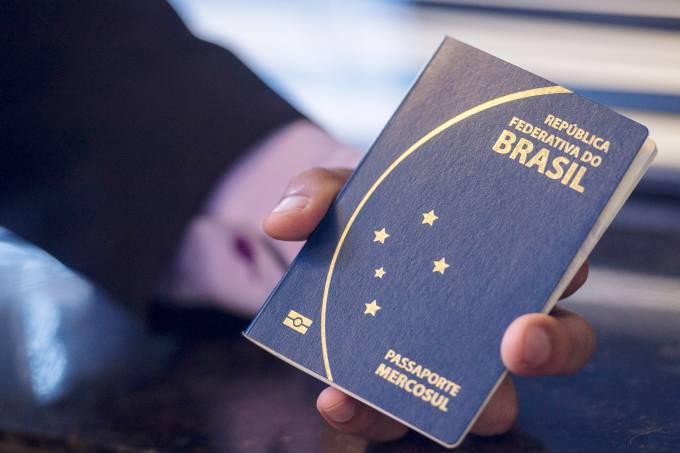 Passaporte brasileiro Mercosul Agência Brasil