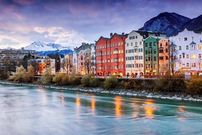 Innsbruck, na Áustria