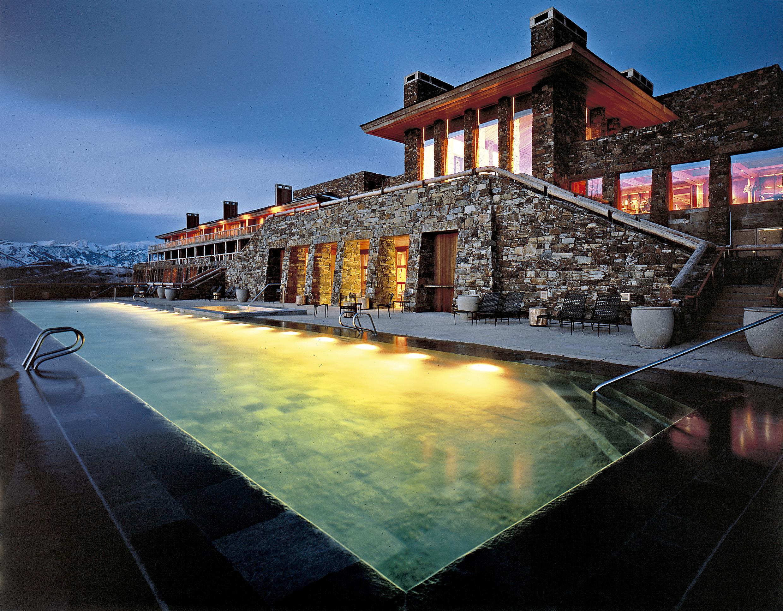 O bacanudo hotel Amangani