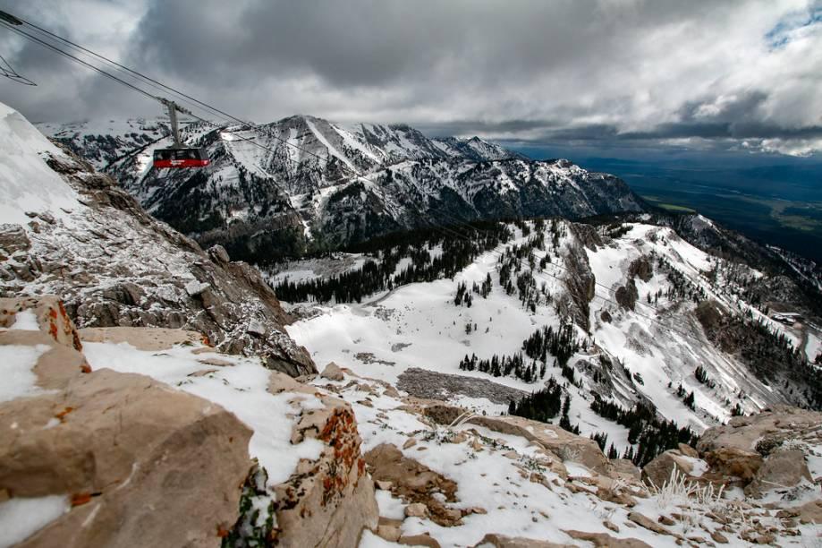 Vista geral de Jackson Hole