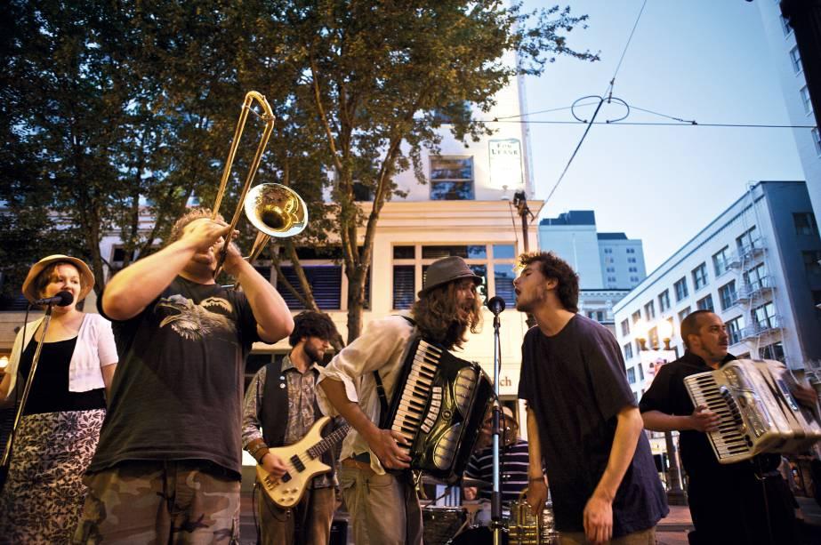 Sons nas ruas de Portland