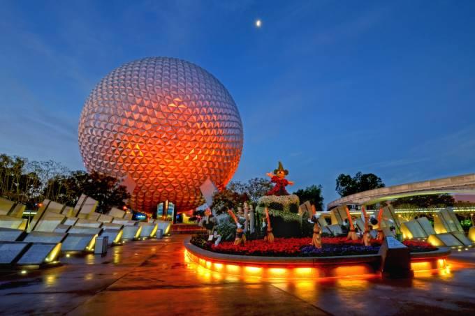 Epcot, parque do Walt Disney World de Orlando, Estados Unidos