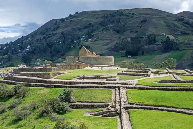 Ingapirca, Equador, ruínas