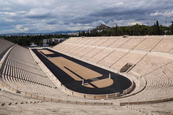 Greece, Athens, Panathenaic Stadium