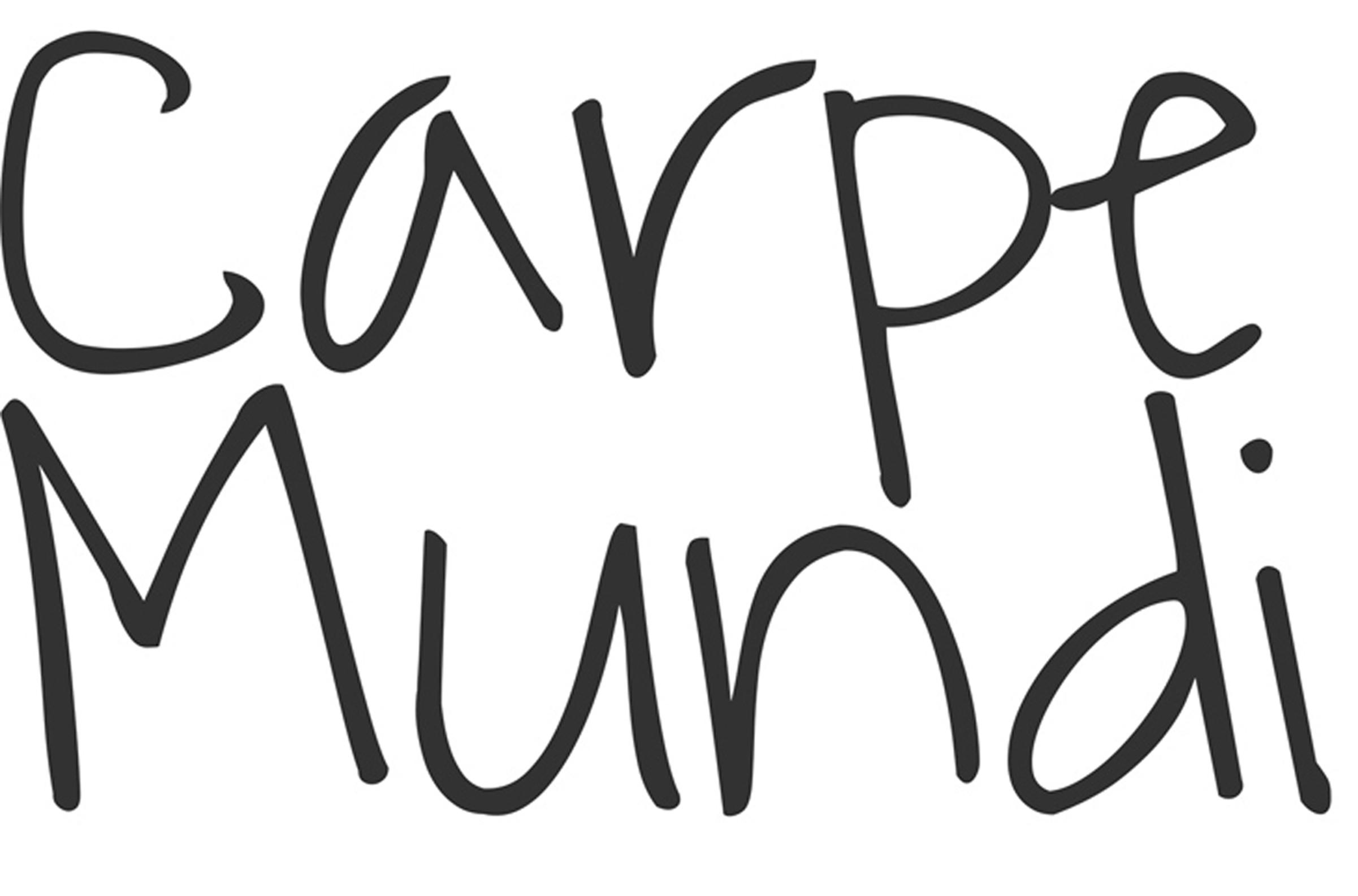 Logo Carpe Mundi blog parceiro