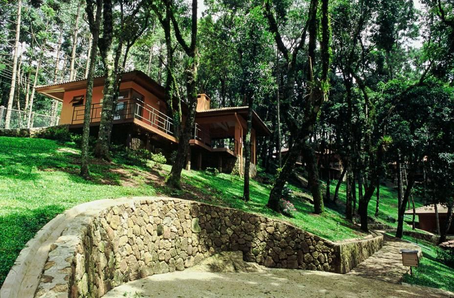 O hotel Kuriuwa, em Monte Verde, está em uma das regiões mais altas da cidade