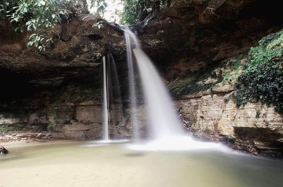 As cachoeiras de Presidente Figueiredo são ideais para quem busca contato com a floresta amazônica