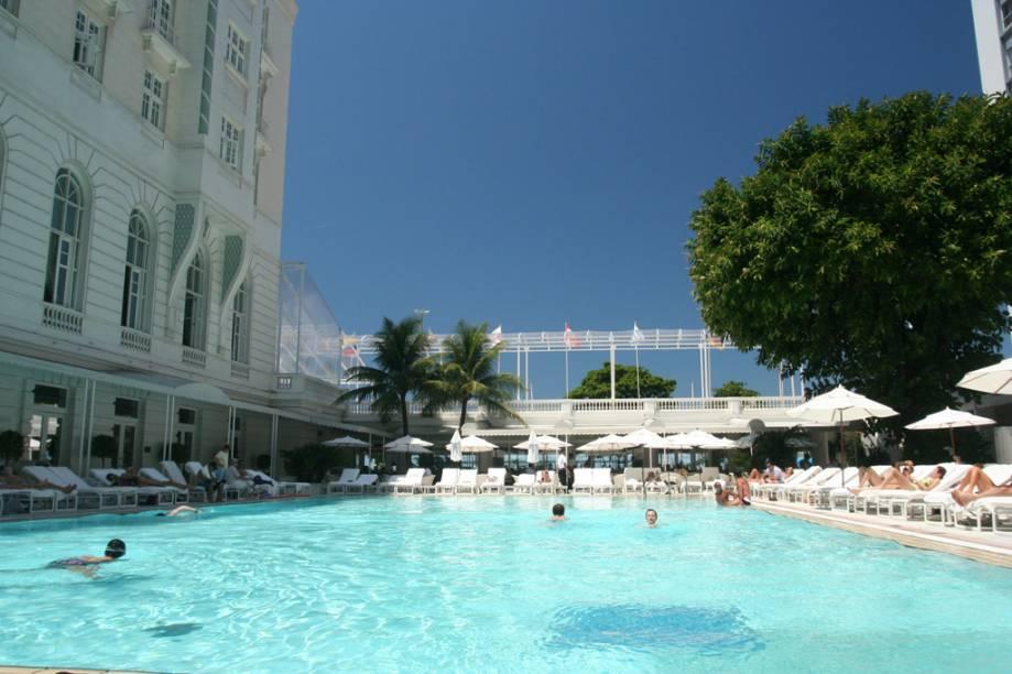 Piscina do Copacabana Palace, no Rio de Janeiro