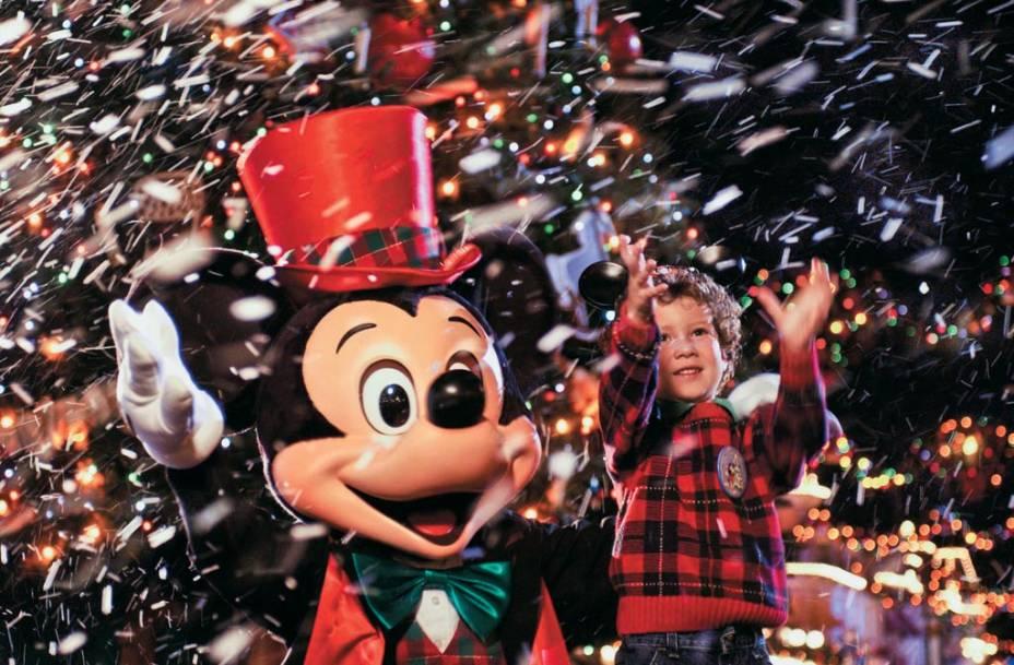 Mickey, no Magic Kingdom