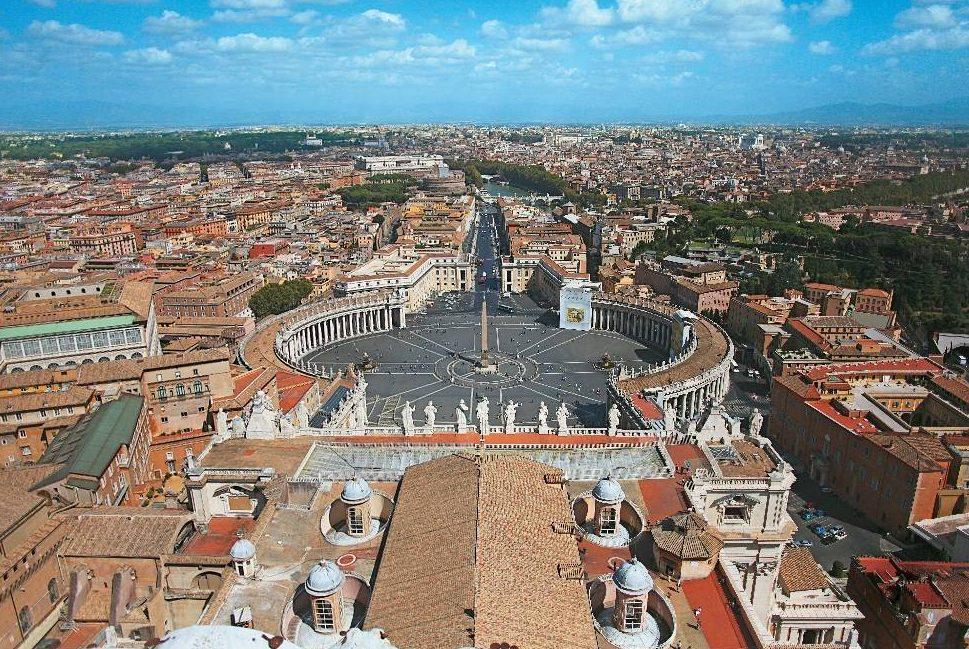 Praça de São Pedro,no Vaticano