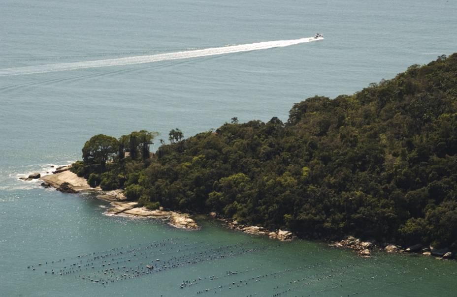 Vista a partir do mirante do Parque Unipraias Camboriú