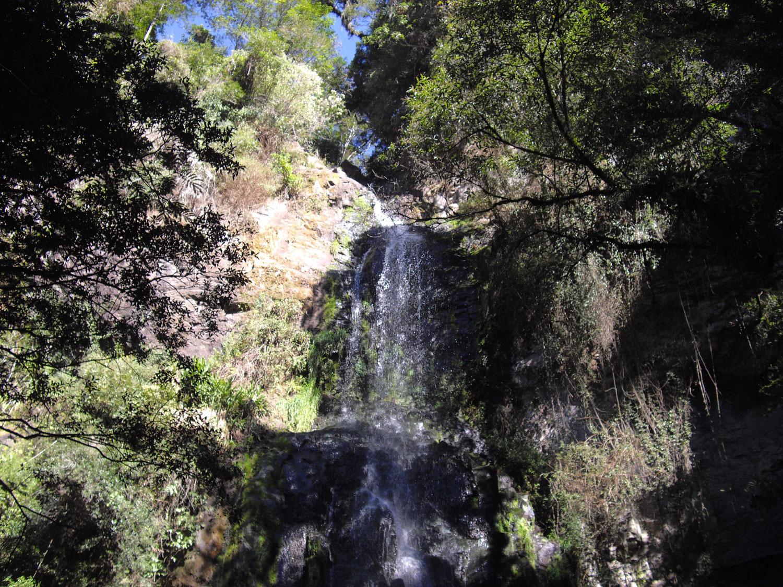 Queda no Parque das 8 Cachoeiras em São Francisco de Paula, Rio Grande do Sul