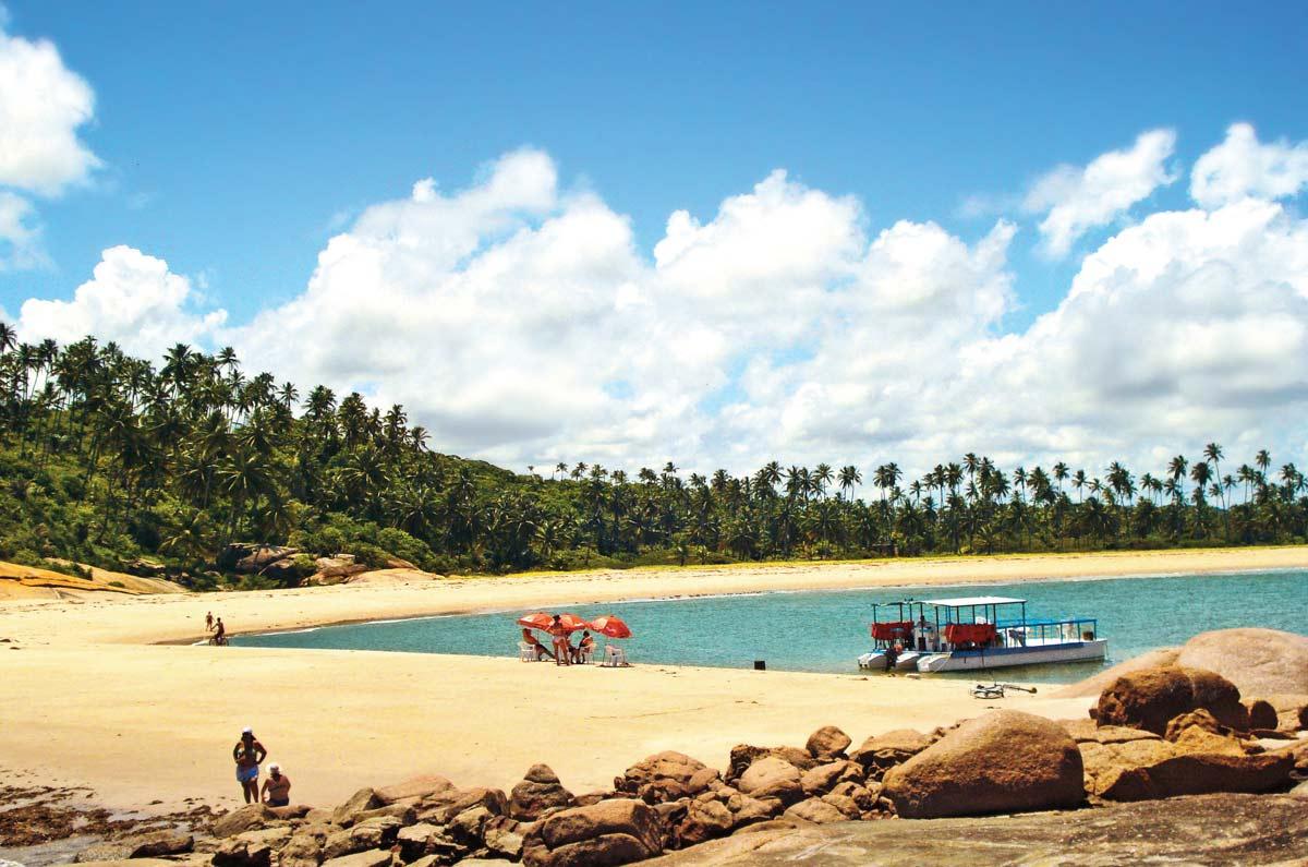 Praia dos Carneiros, em Tamandaré (PE)