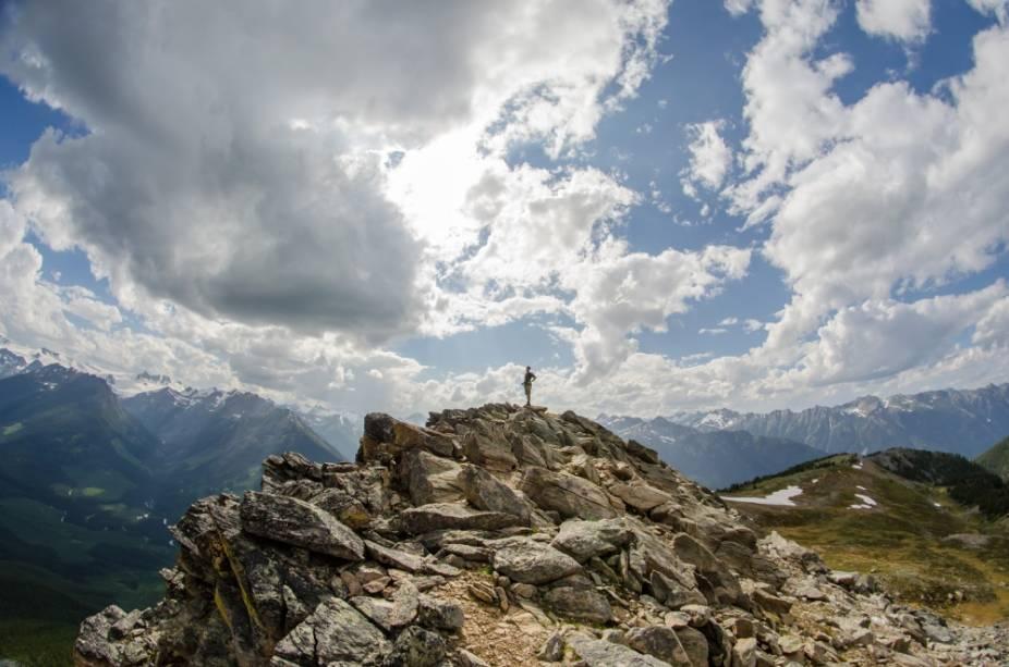 Montanhas na Columbia Britânica