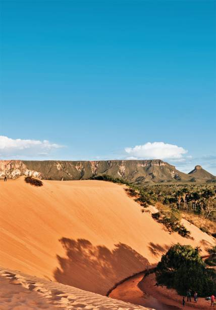 A duna no meio do cerrado, a linda e insólita atração do Jalapão, a pouco mais de 200 km de Palmas, no Tocantins