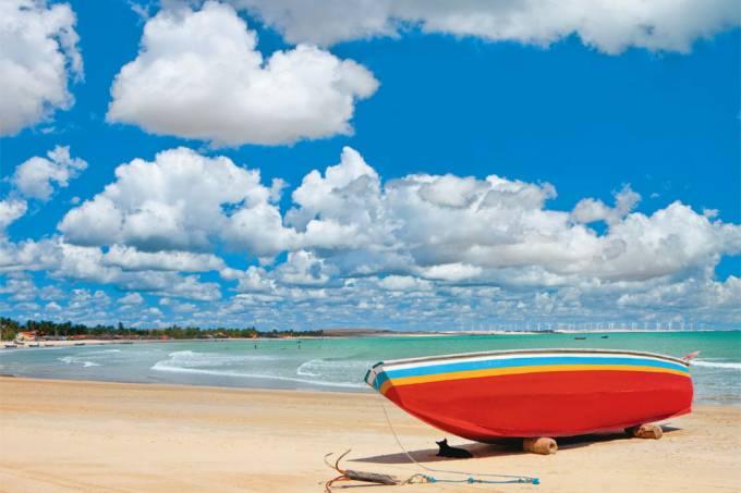 Praia do Maceió, em Camocim