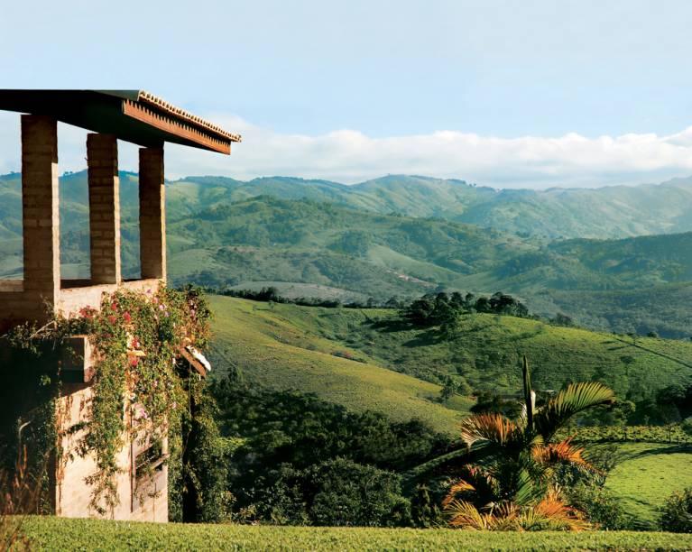 Chalé da Estalagem Shambala, com linda vista para a Serra da Bocaina