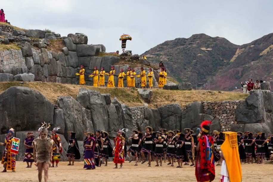 A celebração foi iniciada pelos incas como forma de agradecer ao Deus Sol pelas colheitas, além de pedir prosperidade à terra para alimentar seus filhos