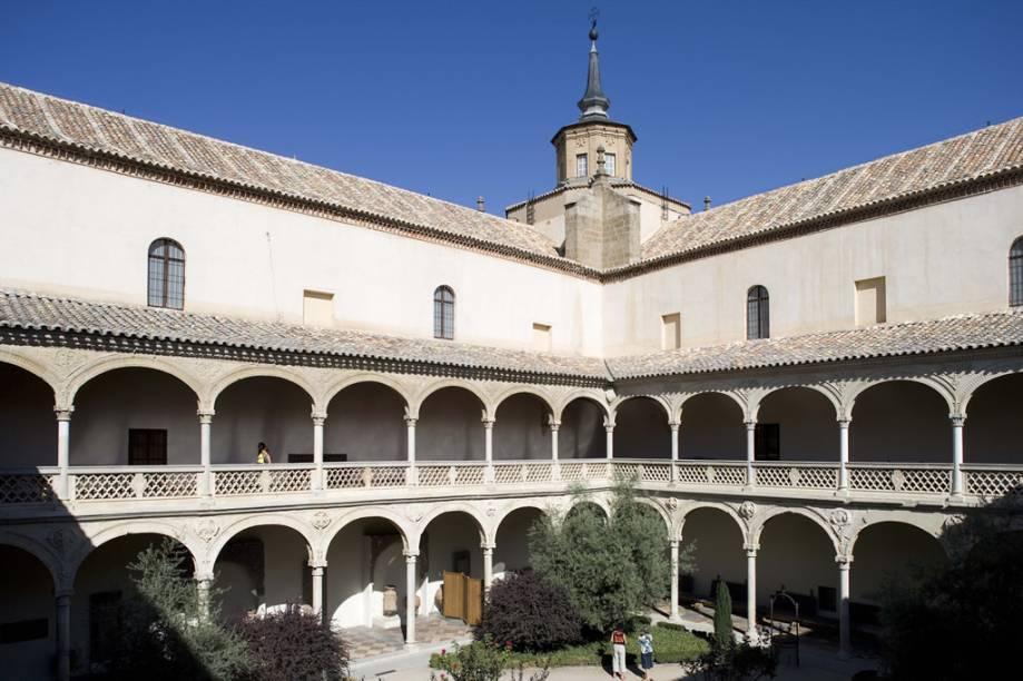 Pátio do Museu de Santa Cruz, em Toledo