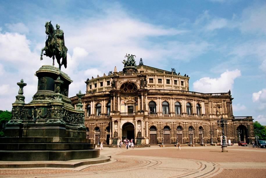 Casa de Ópera Semper, em Dresden