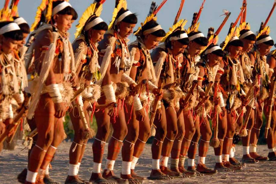 O <strong>Yaokwa </strong>é um ritual do povo Enawene Nawe, que vive no Mato Grosso, <strong>Brasil</strong>. No ritual, que dura sete meses, cada grupo da tribo é responsável por uma tarefa como pesca ou produção de alimentos. O objetivo é homenagear os espíritos Yakairiti para manter a ordem cósmica e social