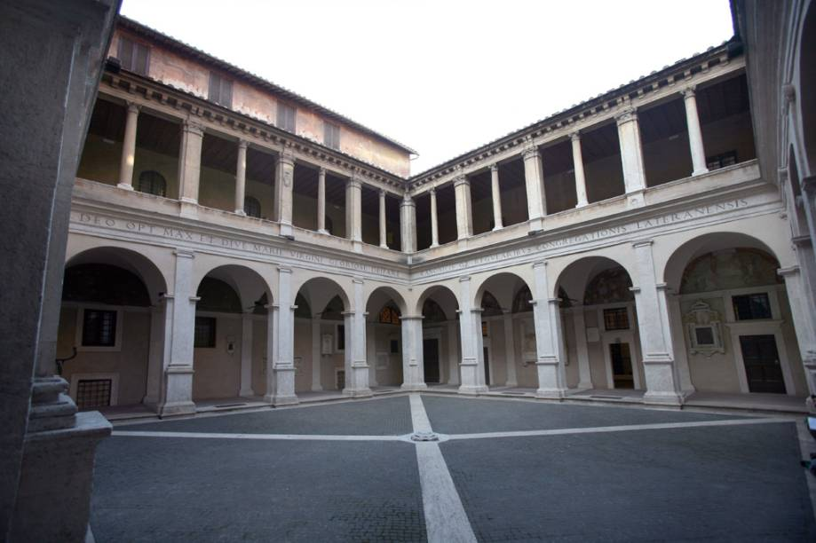 Galeria de arte Chiostro del Bramante em Roma