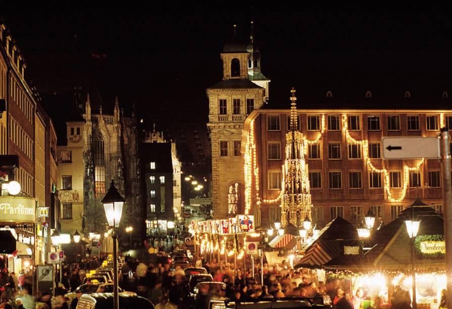 Feira de Natal, em Nuremberg