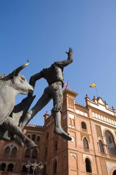 A Plaza de Toros de Las Ventas é a maior plaza de toros da Espanha e onde acontece as mais importantes touradas do país