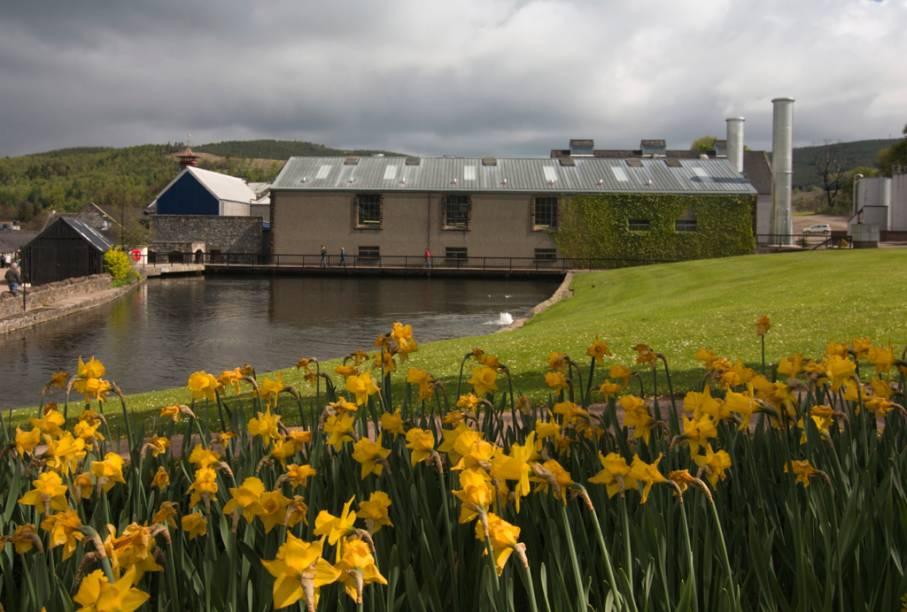 """Destilaria de uísque Glenmorangie, em <a href=""""http://viajeaqui.abril.com.br/cidades/reino-unido-highlands"""" rel=""""Highlands"""" target=""""_blank"""">Highlands</a>"""
