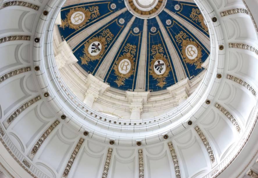 A história política de Havana aparece em todo canto; na foto, o teto do Museo de la Revolución