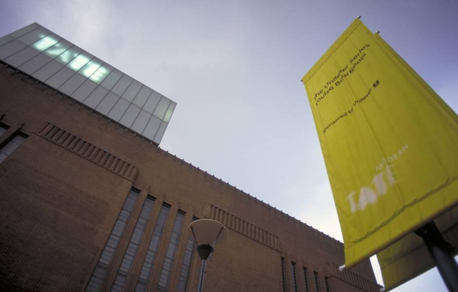 O museu de arte contemporânea Tate Modern, uma das atrações mais visitadas de Londres