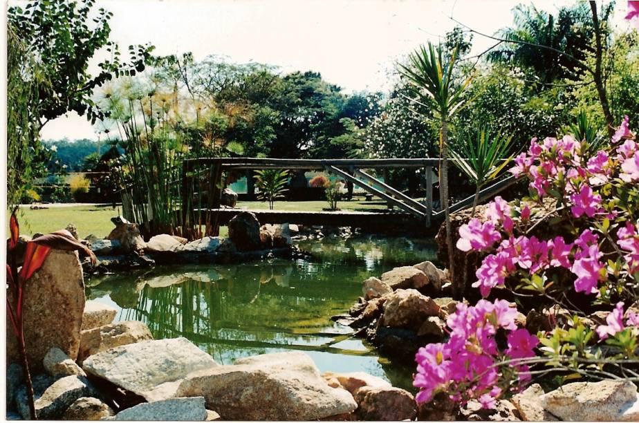 Jardim da Pousada Buonabitacolo